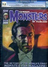 Famous Monsters of Filmland #251 CGC 9.8 NM/MINT Gogos Bela Lugosi Cover