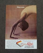F822 - Advertising Pubblicità - 1988 - LIABEL THERMOLIFE MAGLIETTA
