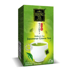 RANONG Mulberry fruit Tea Mixed Japanese matcha green tea Natural Organic 1X25