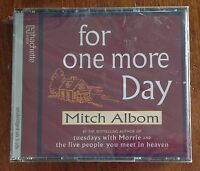 Audio Book MITCH ALBOM - FOR ONE MORE DAY on 3 x CDs - Hachette