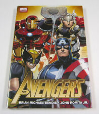 The Avengers Hardcover Book by Bendis/Romita JR HC GN NEW SEALED MARVEL COMICS