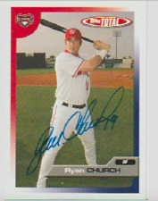 Ryan Church authentic signed autographed trading card COA
