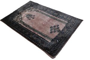 Fein Handgeknüpfter Perser Orientteppich Buchara Jomut carpet rug 90X60cm
