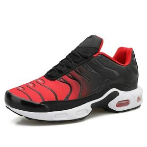Men's Air Cushion Sneakers Running Shoes Breathable Outdoor Walking Casual Shoes