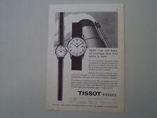 advertising Pubblicità 1960 OROLOGI TISSOT VISODATE
