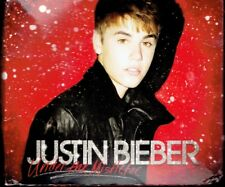 Justin Bieber - Under the Mistletoe - Walmart CD & DVD with Friendship Bracelets