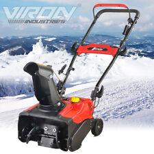 Benzin Schneefräse 3,0 PS Motorfräse Schneeschieber Kehrmaschine Schneepflug Neu