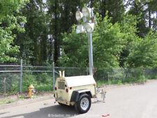 2004 Ingersoll Rand Light Source Towable Light Tower 6K Generator Kubota bidadoo