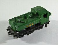 VINTAGE MATCHBOX Pannier Tank Loco No47 Engine GWR Green Original 1979 Used c12