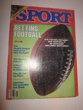 1984 November issue SPORT Magazine BETTING FOOTBALL NBA PREVIEW MAGIC JOHNSON