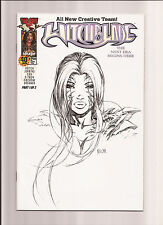 WITCHBLADE #40 NM/MT 9.8 KEU CHA SKETCH COVER (DF EXCLUSIVE) *LTD TO 3,000* 2000