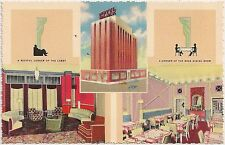 Hotel Black in Oklahoma City OK Multiview Postcard