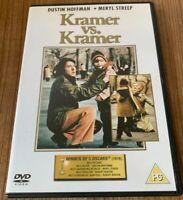 Kramer VS. Kramer DVD (2012) NEW Dustin Hoffman Cert PG Region 2 UK, Benton DIR