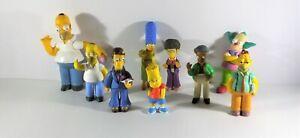 The Simpsons Figures Bundle Fox Matt Groening - Bart Homer Apu Arnie Krusty etc