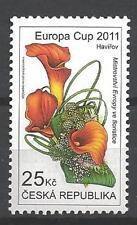 République Tchèque 2011 fleurs bouquets neuf ** 1er choix