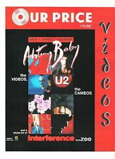 U2 Achtung Baby - Cameos UK magazine ADVERT / Poster 11x8 inches