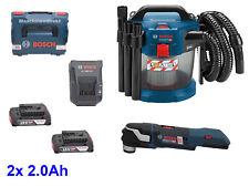 Bosch Professional Akku-Staubsauger GAS 18V-10 L + MultiCutter GOP 18V-28 + Akku