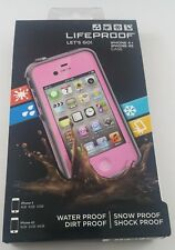 LifeProof Waterproof Case for iPhone 4 & 4S - Pink