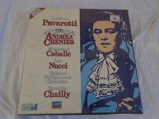 Andrea Chenier PAVAROTTI CABALLE NUCCI CHAILLY  410 117-4 LH 2 Cassette Box Set