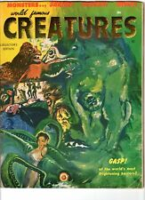 WoW! World Famous Creatures #1 Frankenstein! Vampires! Godzilla! Mask in Tact!