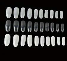 Artificial Manicure Tools Press On Nails Oval Shaped Full Covers Nail Decoration