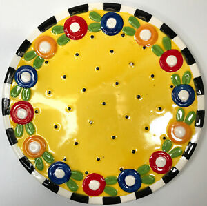 """Afternoon Tea At Home with Mary Engelbreit Funky Retro 1995 7 1/8"""" Trivet Only"""