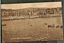 RSQ 1921 Postcard, A (Water) Polo Match, Teignmouth, Devon