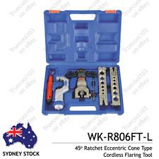 Weikin WK-R806FT-L 45 Ratchet Eccentric Cone Type Cordless Flaring Tool, Sydney