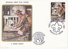 1979 Liberia Scouting / Norman Rockwell Commemorative Cover - A Good Scout