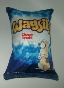fun crinkle dog toy wagsits crisps new without tags next gift idea fetch play