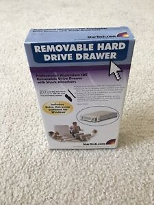 Star Tech Removable Hard Drive Drawer DRW115ATA 3.5 Inch IDE/ATA New