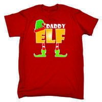 ELF Family Christmas T-Shirts - Novelty Funny X-mas Day Red Loose Fit T Shirt