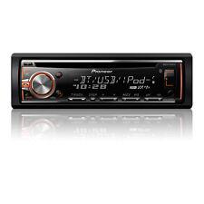 Pioneer DEH-X6800BT Car CD Receiver w/ Built in Bluetooth Aux USB DEHX6800BT