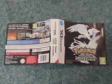 Jaquette originale du jeu Pokémon version Noire 🇫🇷 Nintendo DS