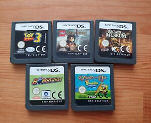 Nintendo DS games bundle - cartridge only - 5 games