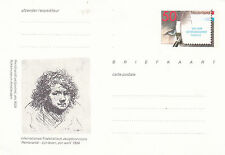 Netherlands 1984 Postcard 50ct Rembrandt Week Prepaid Mint Unused