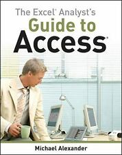 The Excel Analyst's Guide to Access-ExLibrary