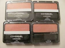 Covergirl Cheekers Blush 105 Rose Silk sealed Lot of 4