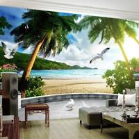 Wallpaper Stereoscopic Space Mural Living Room Bedroom Background Scenic Pattern