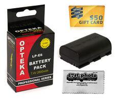Baterías Canon para cámaras de vídeo y fotográficas sin cargador incluido