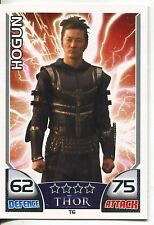 Marvel Hero Attax Series 1 Thor Subset Chase Card T6 Hogun