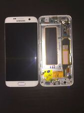 For Samsung Galaxy S7 Edge G935F Screen Digitizer LCD replacement Black Frame.