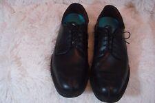 ALLEN EDMONDS 'ASHTON' 1608 Black Calf Split Toe Derby Orthotics Men's Sz 7.5 D