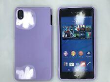 Verizon Sony Xperia Z3v Silicone Cover in Purple