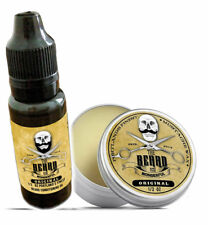 Beard Oil & Wax Set -Moustache Wax & Conditioning Beard Oil Set Portlands Finest
