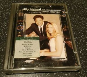 DO NOT BUY! TBC ALLY MCBEAL FOR ONCE IN MY LIFE VONDA SHEPARD Minidisc Mini Disc