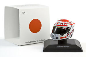 Spark 1/8 Jenson Button McLaren Mercedes 2011 Japanese Grand Prix Helmet 1
