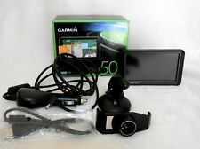 GARMIN NUVI 50LM 5 INCH GPS BUNDLE, CAR CHARGER, MAPS, COMES WITH BOX, NICE!