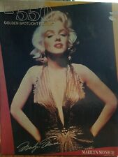 "New Sealed Marilyn Monroe ""Golden Spotlight"" 500 piece Jigsaw Puzzle"