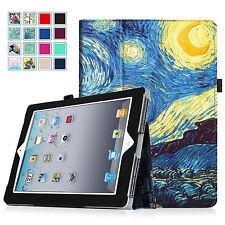 For iPad 2 / iPad 3rd / iPad 4th Case Slim Folio Stand Cover Auto Sleep / Wake